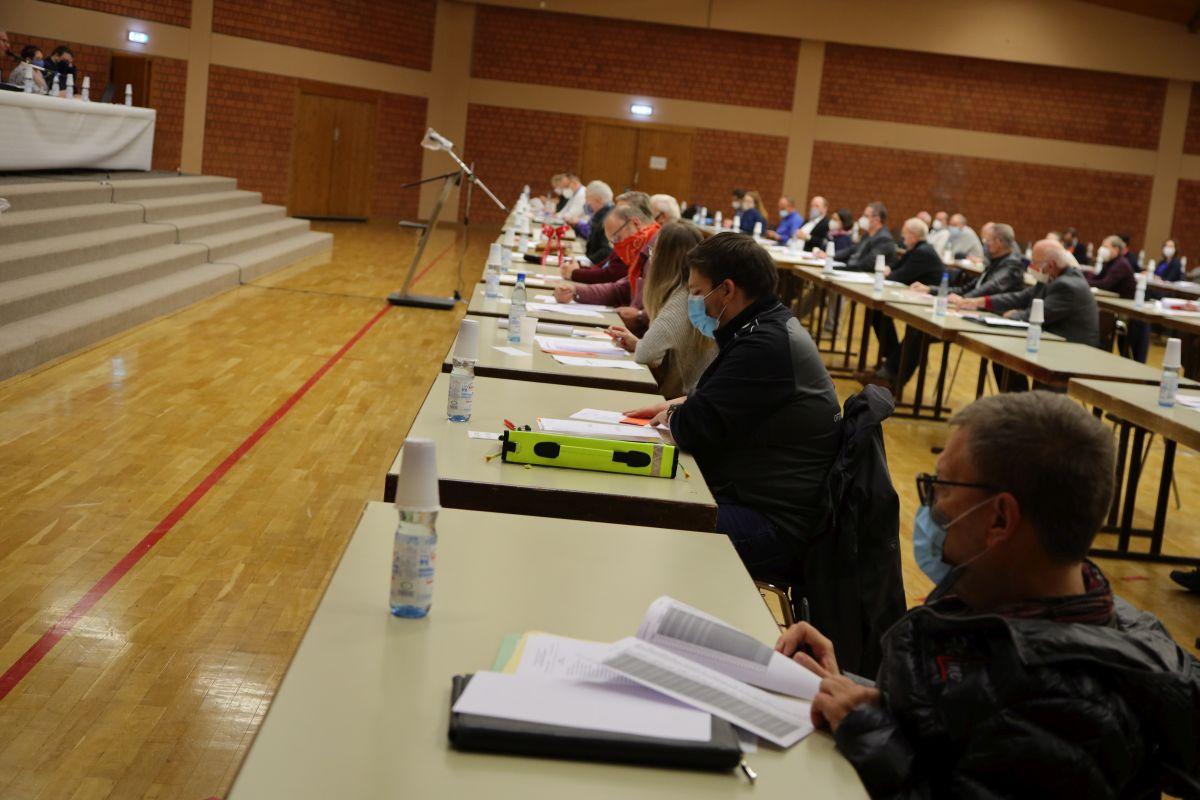 Delegierte beim Nominierungsparteitag