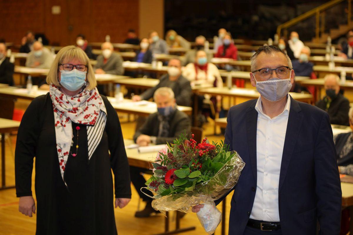 Silke Engler und Andreas Siebert