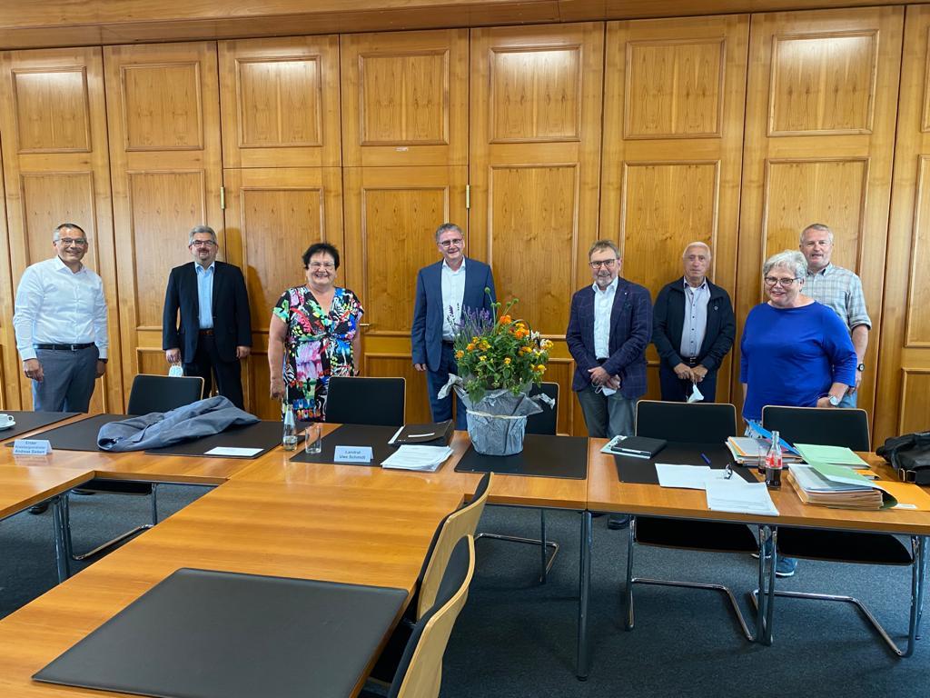 Letzte Sitzung des Kreisausschusses mit Landrat Uwe Schmidt