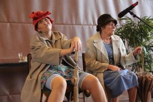 """""""Matta und Lisbeth"""" bei ihrem unvergleichlichen Dialog..."""