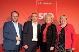 Timon Gremmels, Andreas Siebert, Silke Engler, Christine Lambrecht