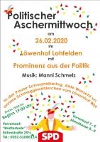 SPD-Lohfelden-Politischer Aschermittwoch