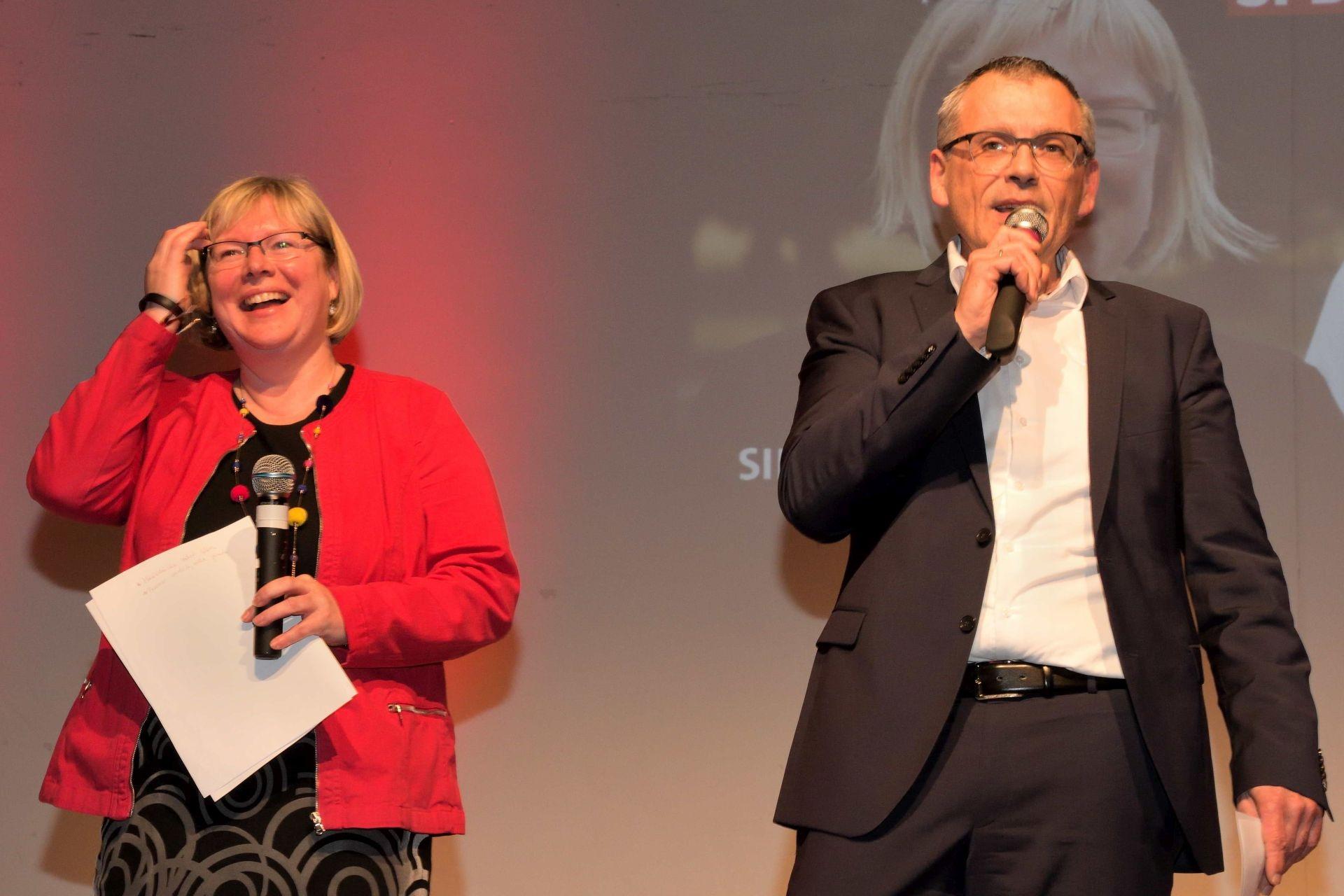 Neujahrsempfang 2020: Silke Engler, Andreas Siebert