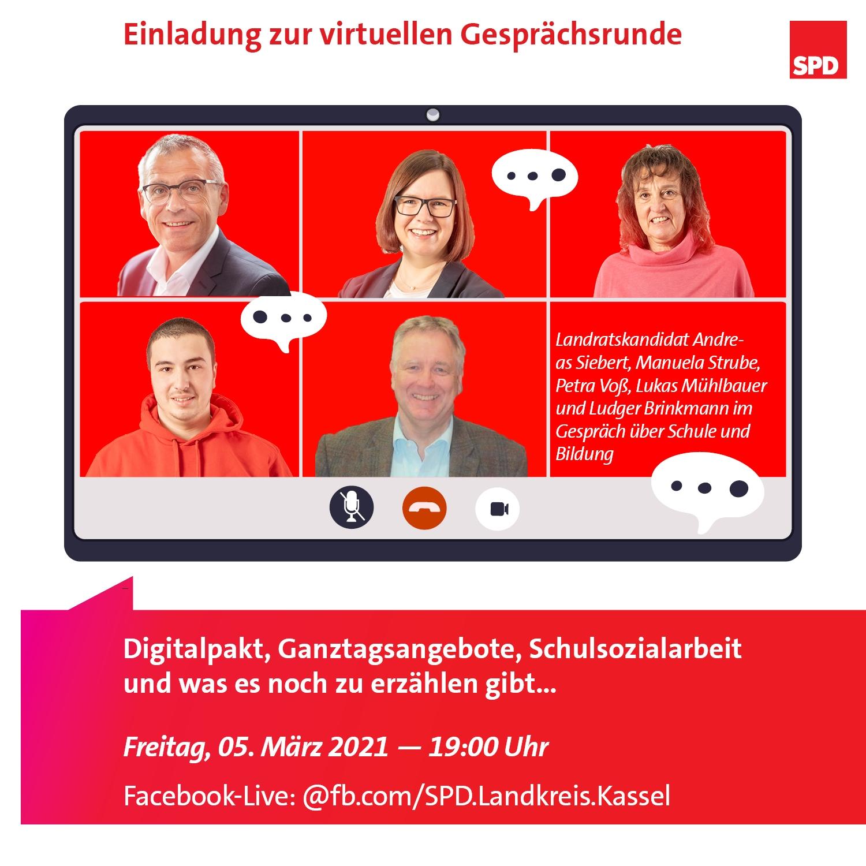 Virtuelle Veranstaltung: Beste Bildung überall im Landkreis