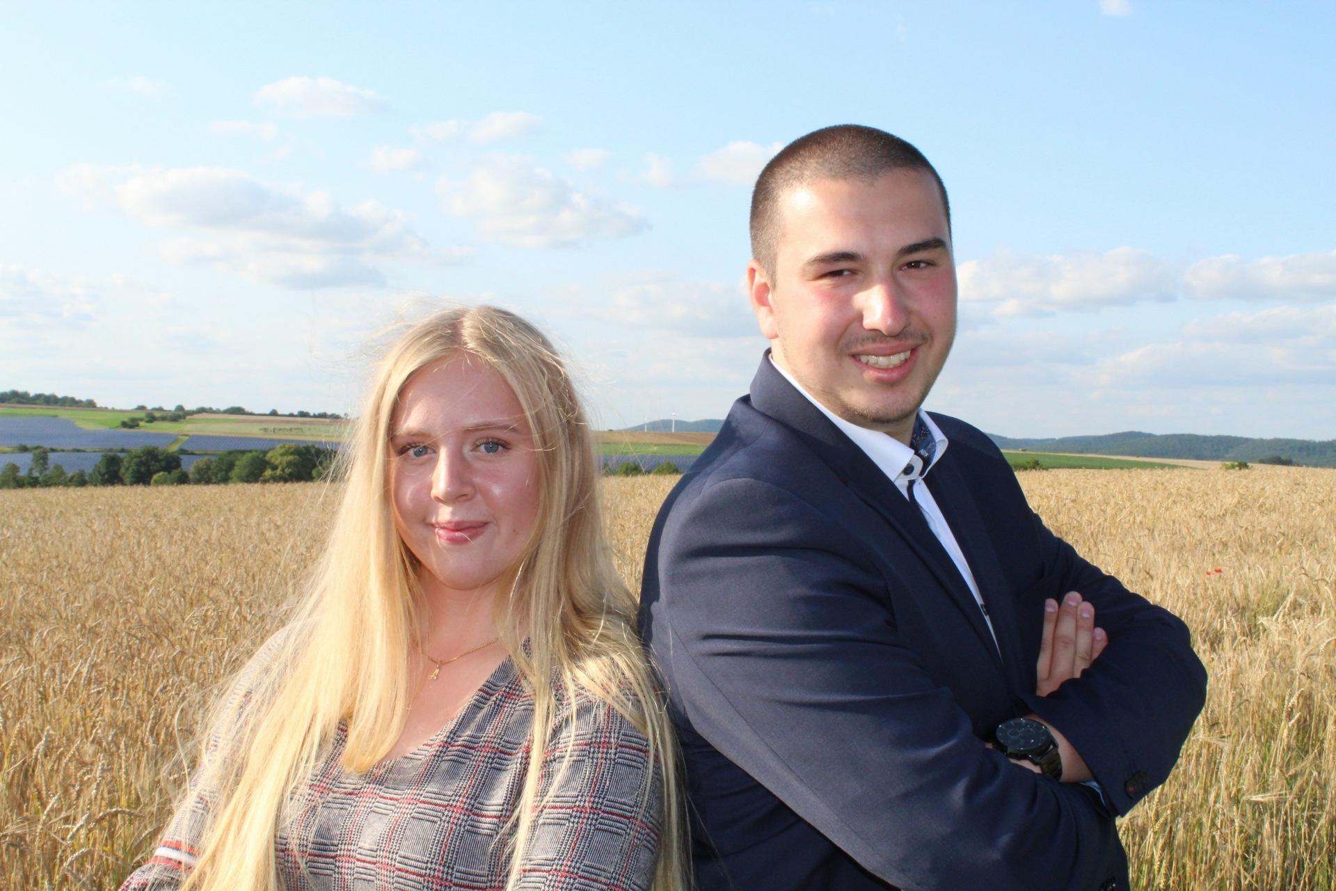 Annalena Karger und Lukas Mühlbauer